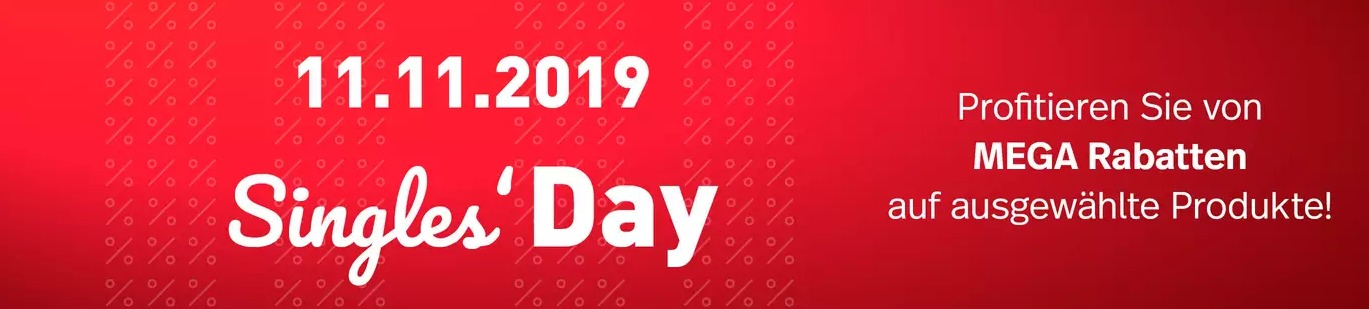 Nettoshop Singles Day 2019